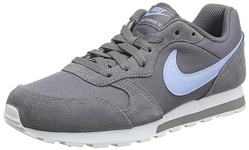 Nike MD Runner 2 (GS), Zapatillas de Running para Niñas, Gris (Gunsmoke/Royal Tint-White 012), 35.5 EU: Amazon.es: Zapatos y complementos