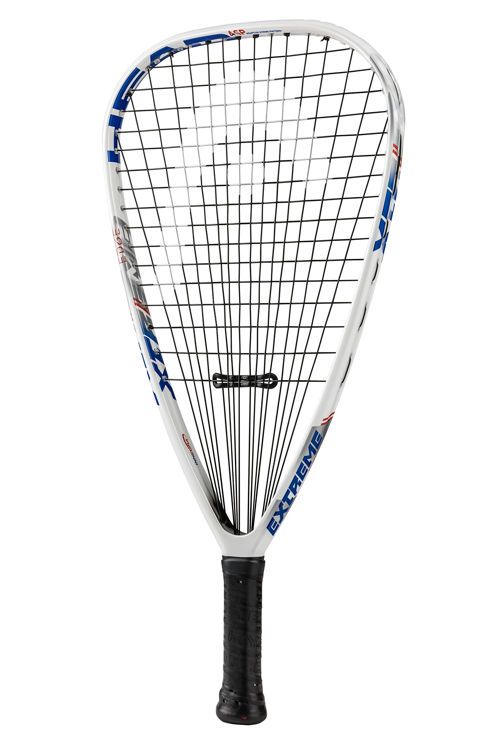 HEAD Extreme Edge Racquetball Racquet, Strung, 3 5/8 Inch Grip