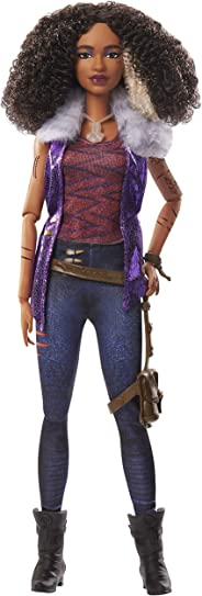 """Disney Zombies 2, Willa Lykensen Werewolf Doll (11.5inch) Wearing Rocker Outfit and Accessories, 11 Bendable """"Joints,"""" Great"""