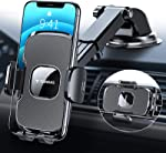 TORRAS [Ultra-Durable] Cell Phone Holder for Car, Universal Car Phone Mount