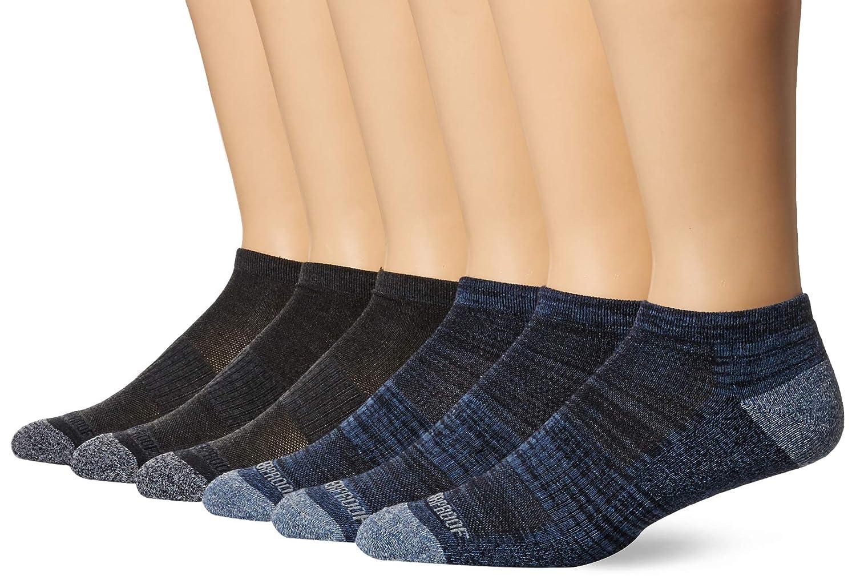 Weatherproof mens Mens 6 Pack Low Cut Socks Hiking Socks