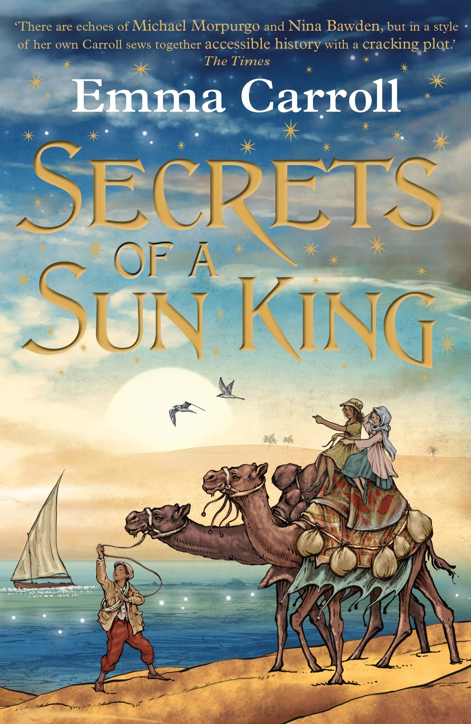 Secrets of a Sun King: 1: Amazon.co.uk: Carroll, Emma: 9780571328499: Books