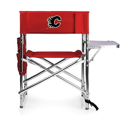 Incredible Amazon Com Picnic Time Nhl Calgary Flames Portable Folding Alphanode Cool Chair Designs And Ideas Alphanodeonline