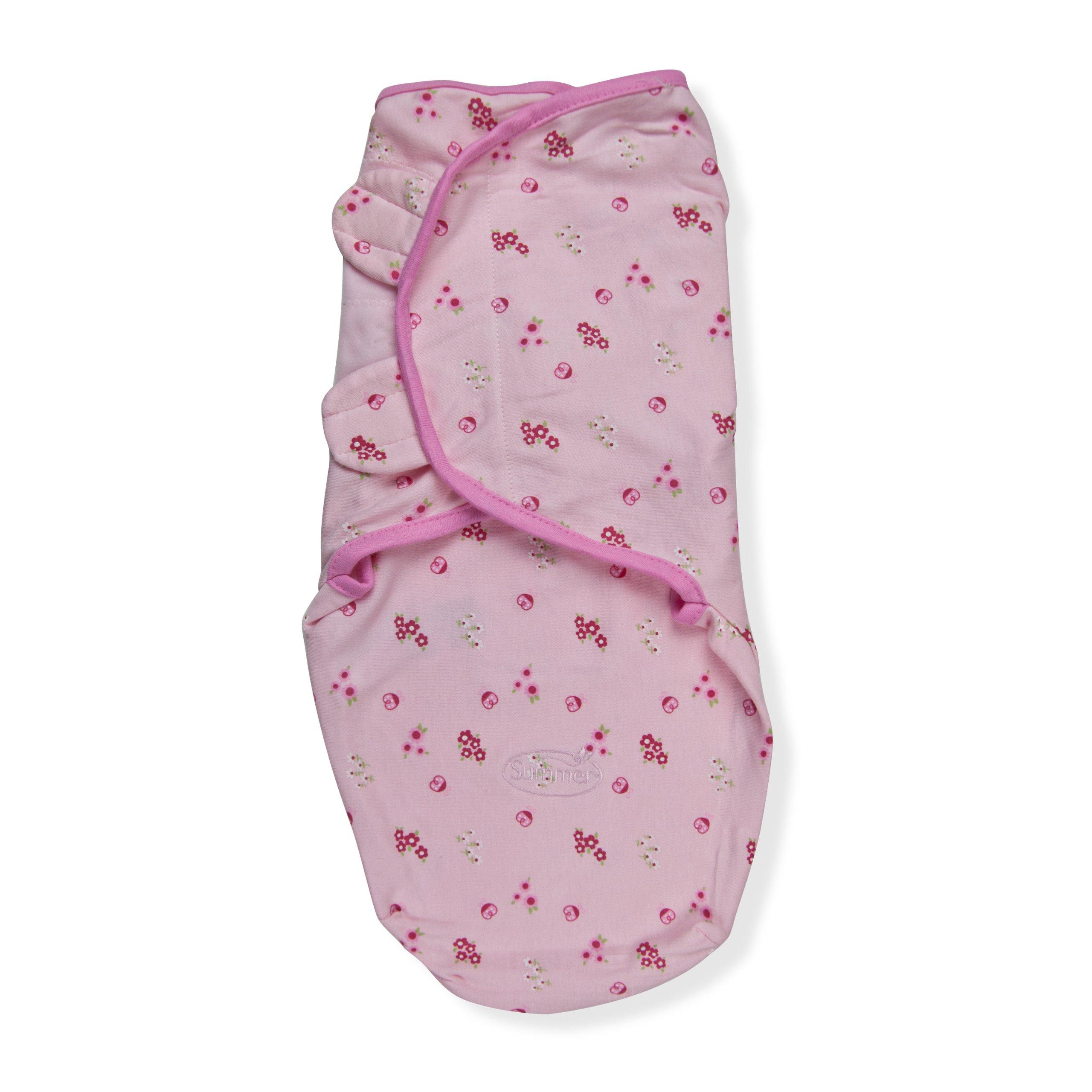 Summer Infant Swaddleme Adjustable Infant Wrap, Ladybug, Small/Medium