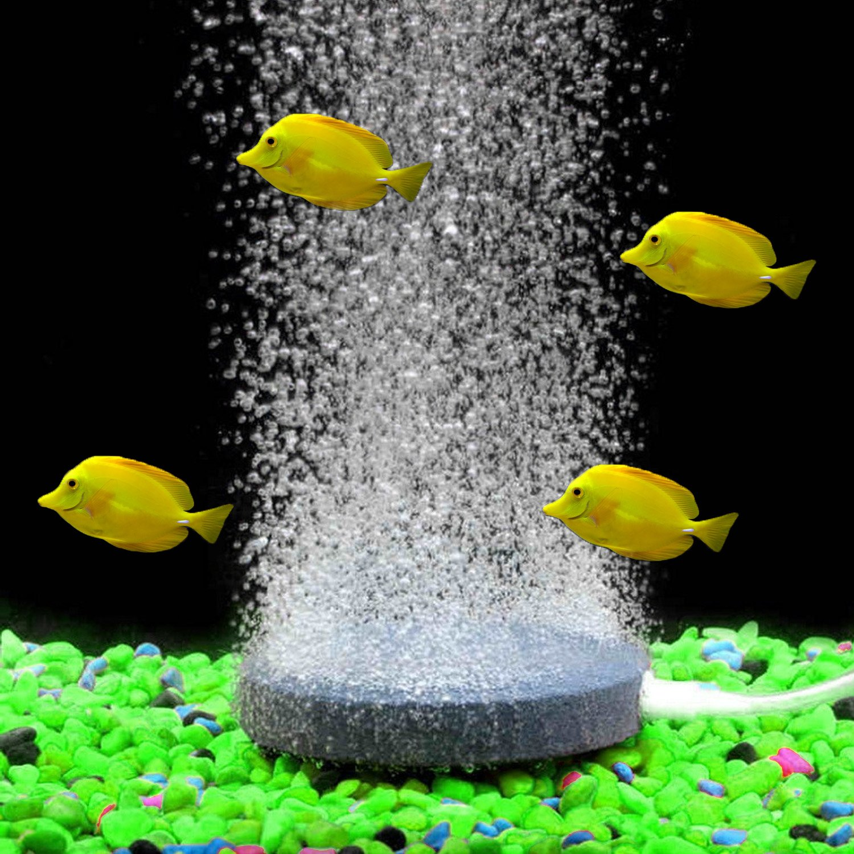 Piedra de acuario burbuja piedra aireador aire mini placa para peces tanque hidropónico bomba aire piedras difusor: Amazon.es: Hogar