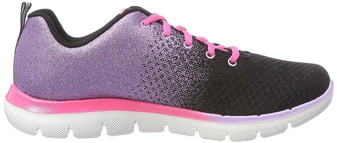 ed1873fe9c2 Amazon.com | Skechers Girl's, Skech Appeal 2.0 Get Em Glitter Sneakers |  Basketball