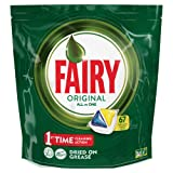 Fairy All in One Lemon Dishwashing Tablets, 67 Tablets