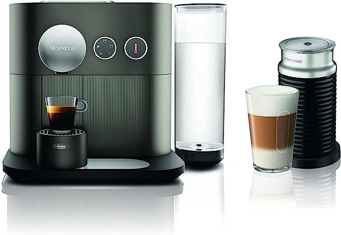 Nespresso Expert Original Espresso Machine Bundle con aeroccino espumador de leche por DeLonghi: Amazon.es: Hogar