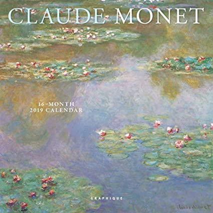 claude monet 2020 calendar english and french edition