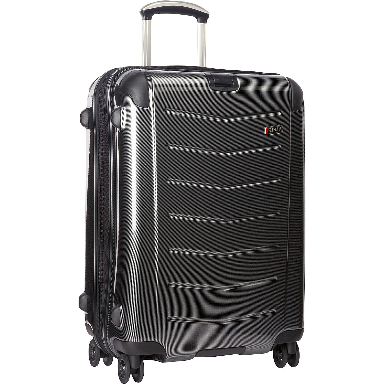 Ricardo Beverly Hills Luggage Rodeo Drive 25-Inch 4-Wheel Expandable Upright (One size, Charcoal)