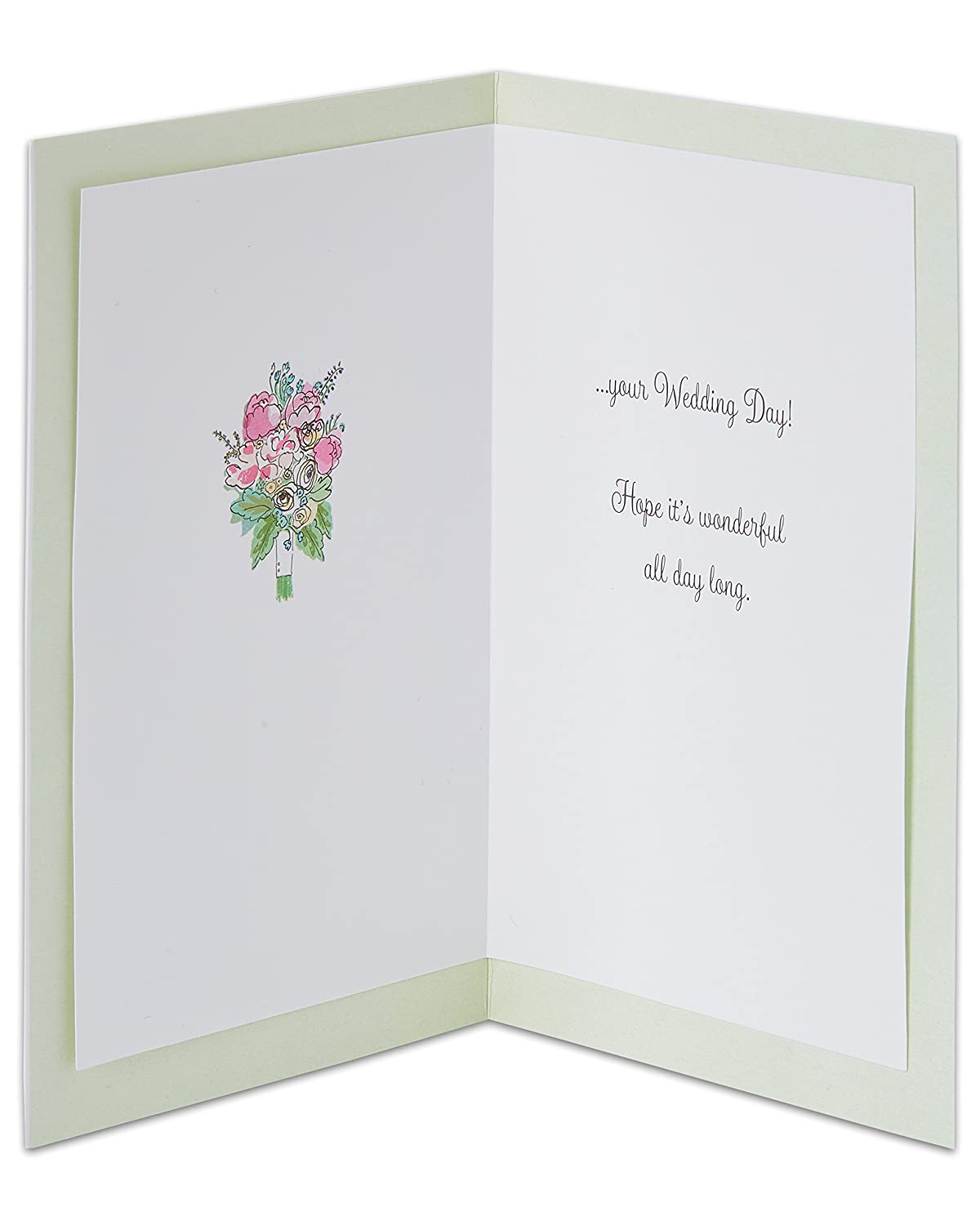 American Greetings Happily Ever After Wedding Card With Glitter 7466088