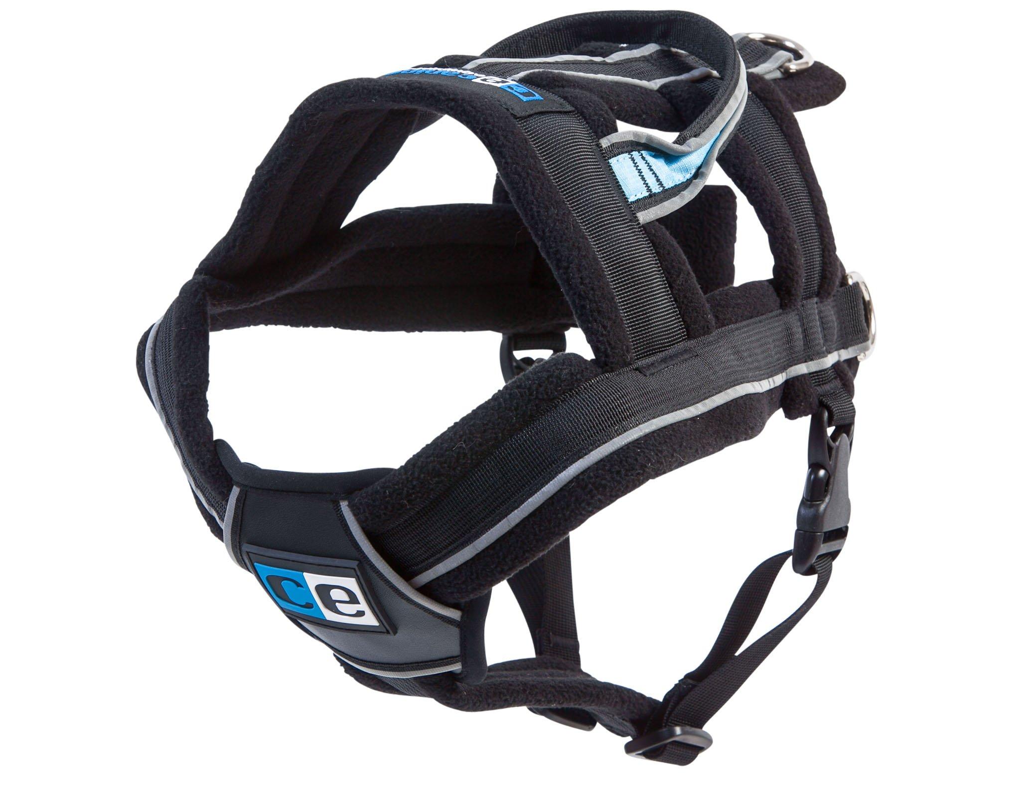 Canine Equipment Ultimate Pulling Dog Harness, Large, Black