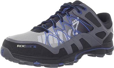 INOV8 Roclite 315 Zapatilla de Trail Running Caballero, Gris/Azul, 44: Amazon.es: Zapatos y complementos