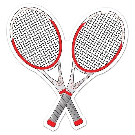 79a16c423c683 Beistle Tennis Racquets Cutout, 12.5