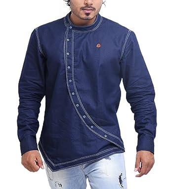 afe56e99951e PP Shirts Men Denim Shirt: Amazon.in: Clothing & Accessories