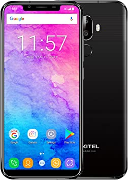 NUEVO] OUKITEL U18 5.85 pulgadas 21: 9 Pantalla completa HD Teléfono móvil MTK6750T Octa Core 4G + 64G ROM Android 7.0 4000mAh Huella digital Smartphone-negro: Amazon.es: Electrónica