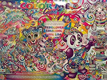 Buy Color Me Lisa Frank 12 Posters Adult Coloring Book ...