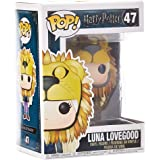 Pop Funko 47 Luna Lovegood Harry Potter Lion Head