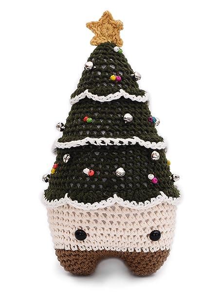 Christmas Tree Toys Handmade.Amazon Com Dark Green Xmas Tree Xaver Handmade Amigurumi