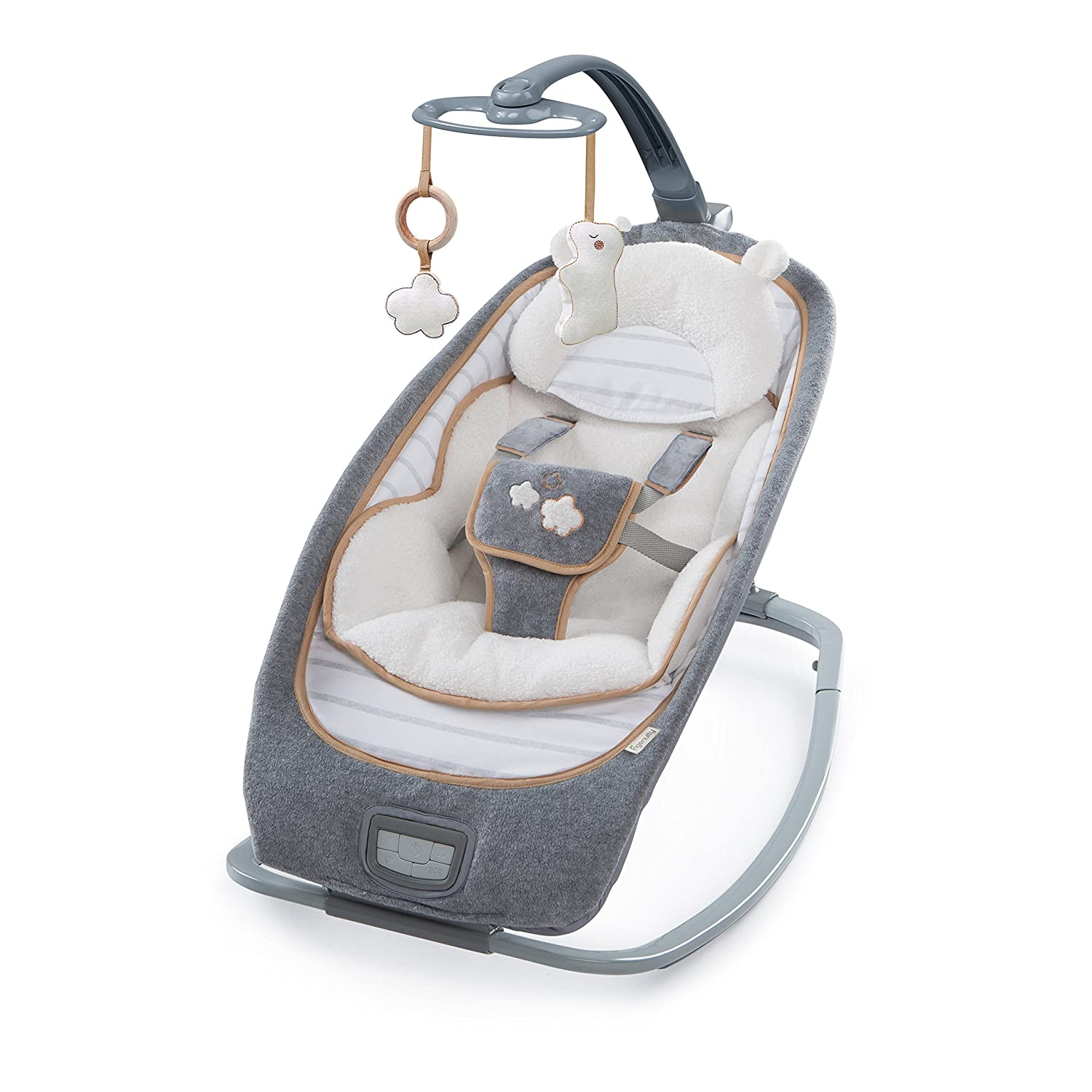 Ingenuity Boutique Collection Rocking Seat - Bella Teddy Kids II 10986-3-W11