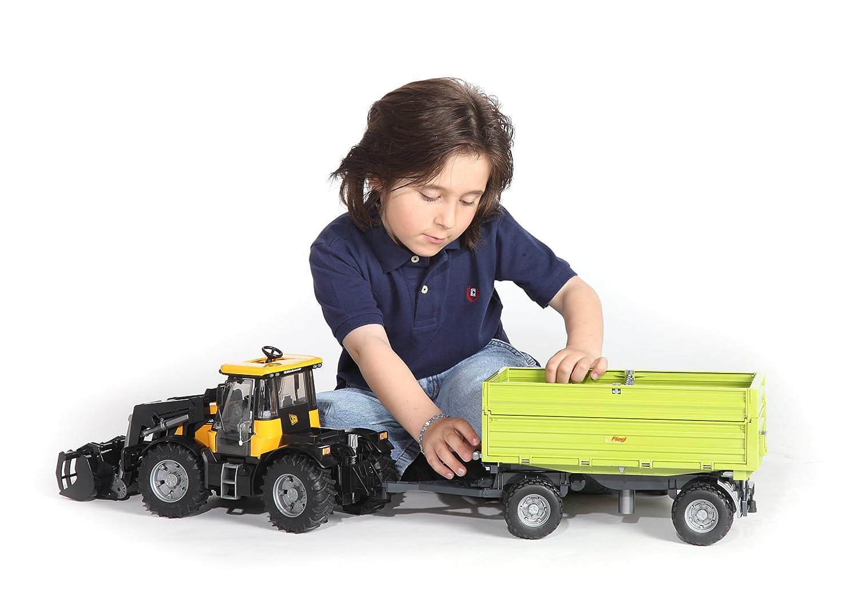 Assorted Colours Siva Toys B102203 Siva  Side Dump Trailer