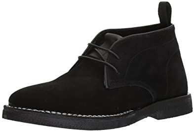 Steve Madden Men's Logik Ankle Boot, Black Suede, ...