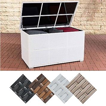Amazon.de: CLP Polyrattan-Aufbewahrungsbox Safe I Gartentruhe für ...