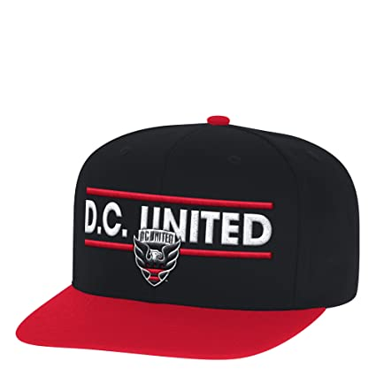 b2dd05ed9d6 Amazon.com   adidas MLS D.C. United Men s Dassler Flat Brim Snapback ...