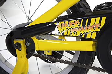 bike size chart for dynacraft magna major damage bmx