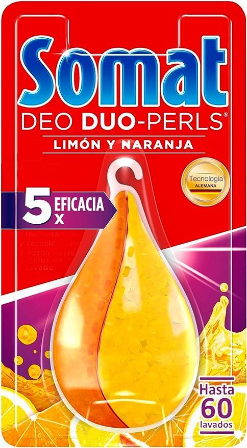 Somat - Deo Pearls Ambientador Lavavajillas Perfume 3 acciones (1 ...