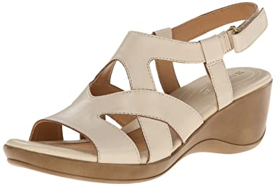 24dab5e22713 Naturalizer Womens Tanner Leather Open Toe Casual Platform
