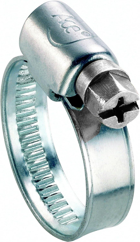 rostfreier Edelstahl ACE Schlauchschelle 12 mm breit f/ür Schl/äuche mit Durchmesser 90-110 mm