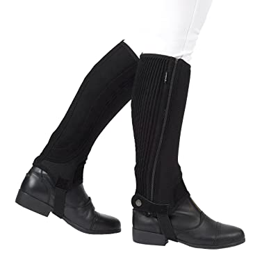 Dublin Easy Care Mesh II Half Chaps Large Black: Automotive