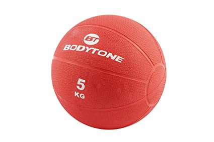 BT BODYTONE Balón Medicinal de 5kg en Color Rojo: Amazon.es ...