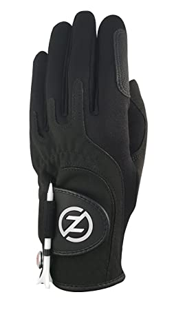 Zero Friction Women s Storm All Weather Golf Gloves, One Size, Black, Pair