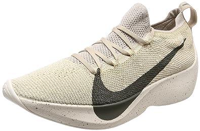 cad45aff22a0 NIKE Vapor Street Flyknit AQ1763-200 String Cream Rock Men s Running Shoes (