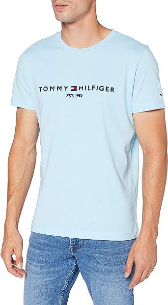 Tommy Hilfiger Tommy Logo tee Camisa para Hombre: Amazon.es: Ropa y accesorios