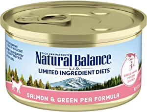 Natural Balance L.I.D. Limited Ingredient Diets Wet Cat Food, 24 Cans