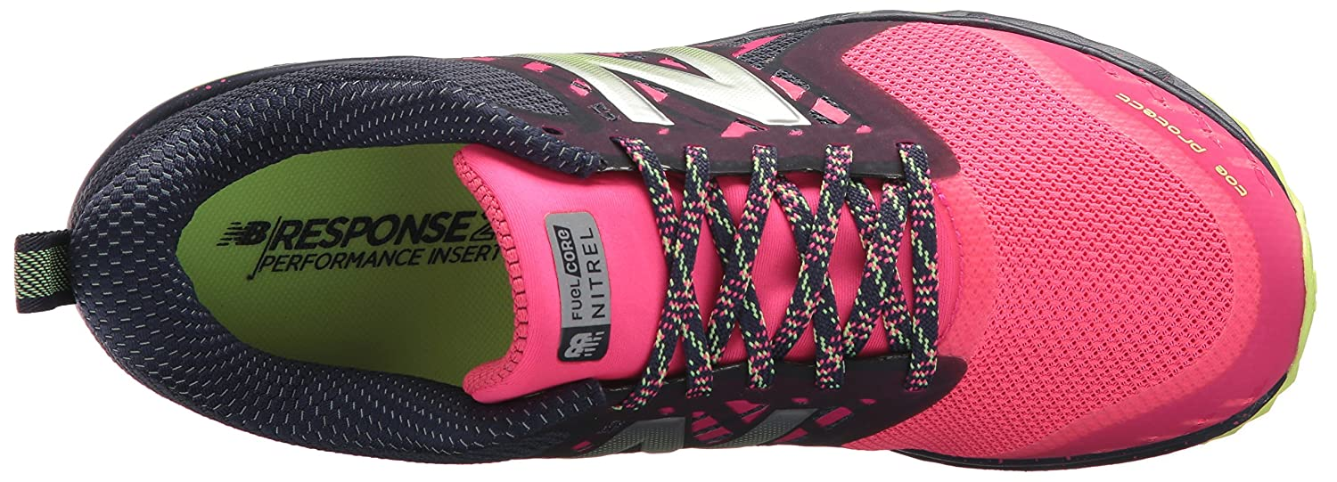 New Balance Trail Women's Nitrel v1 FuelCore Trail Balance Running Shoe B01MZ3IDXI 10 D US|Grey/Pink 12cbec