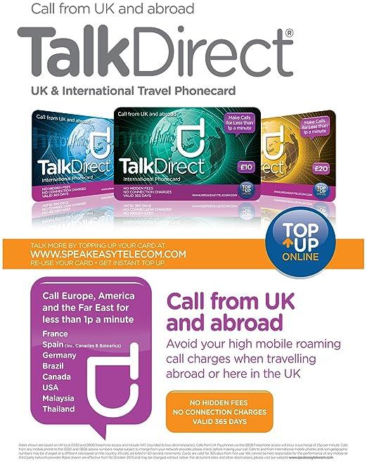 Love2surf Talk Direct Tarjeta prepago de Llamadas internacionales ...
