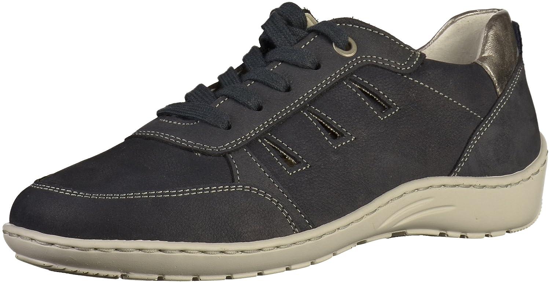 Jenny 22-53965-06 - Zapatos de Cordones Para Mujer Azul Navy/Titan Weite H 5.5|navy/titan Weite H