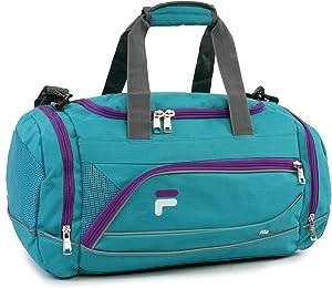 "Fila Sprinter 19"" Sport Duffel Bag, Teal/Purple, One Size"