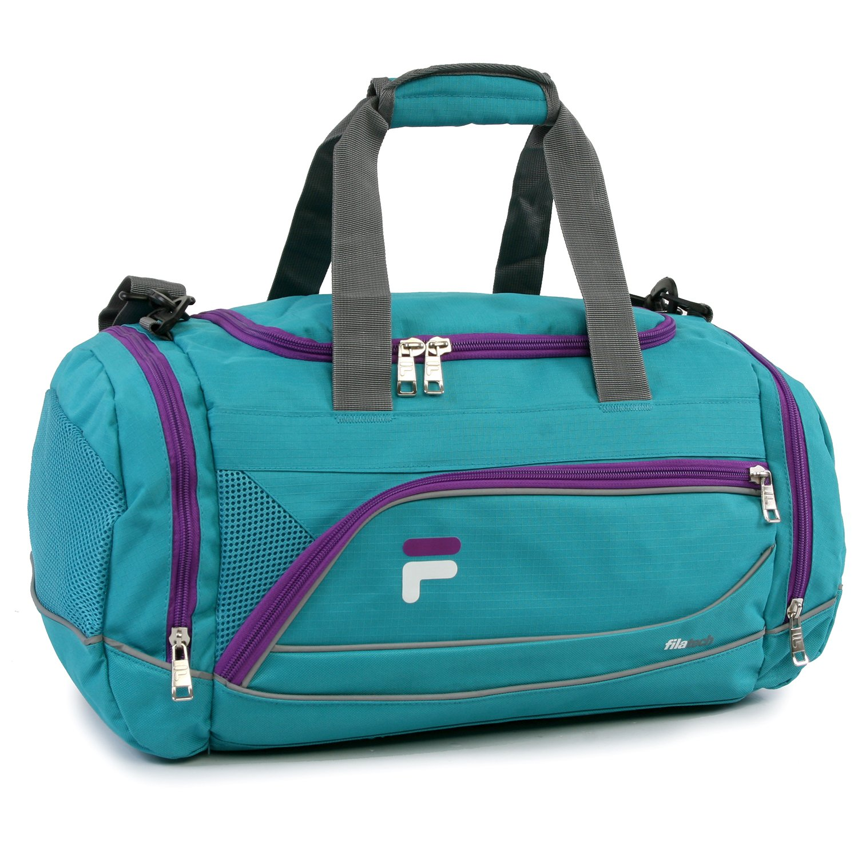Fila Sprinter 19'' Sport Duffel Bag, Teal/Purple