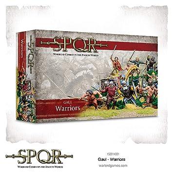 WAR-152014001 - Juegos De Warlord - SPQR - Guerreros De La Galia ...