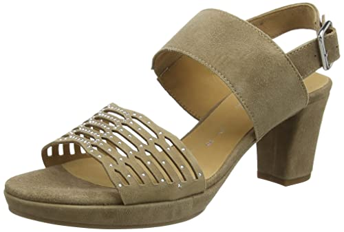 Marrone 385 EU GABOR SHOES COMFORT 62393 SANDALI CON TACCO DONNA WALNUT
