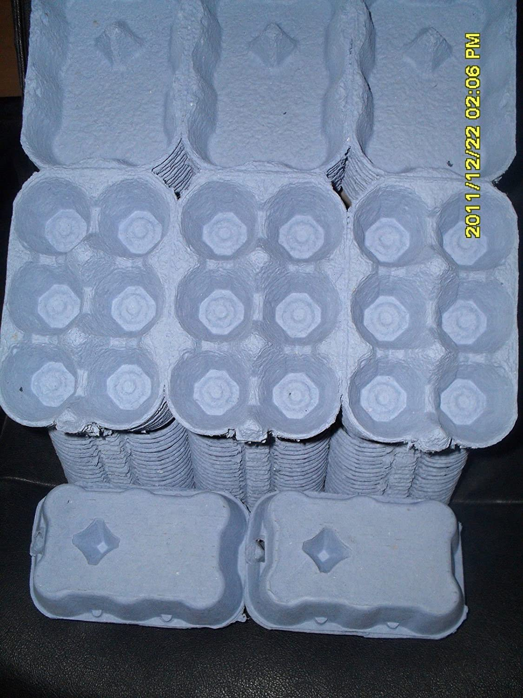 100 X 1/2 DOZEN EGG BOXES NEW (BLUE COLOUR) ANGLIA FARM SUPPLIES