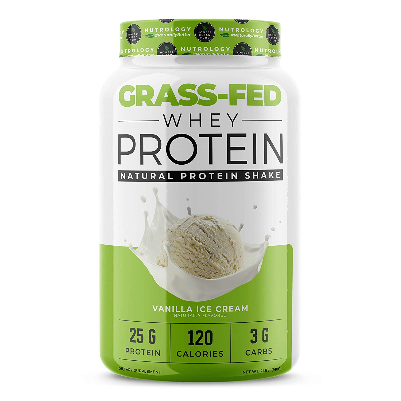 Non-GMO Grass-Fed Whey Protein – Cold Processed – Vanilla -2lbs.