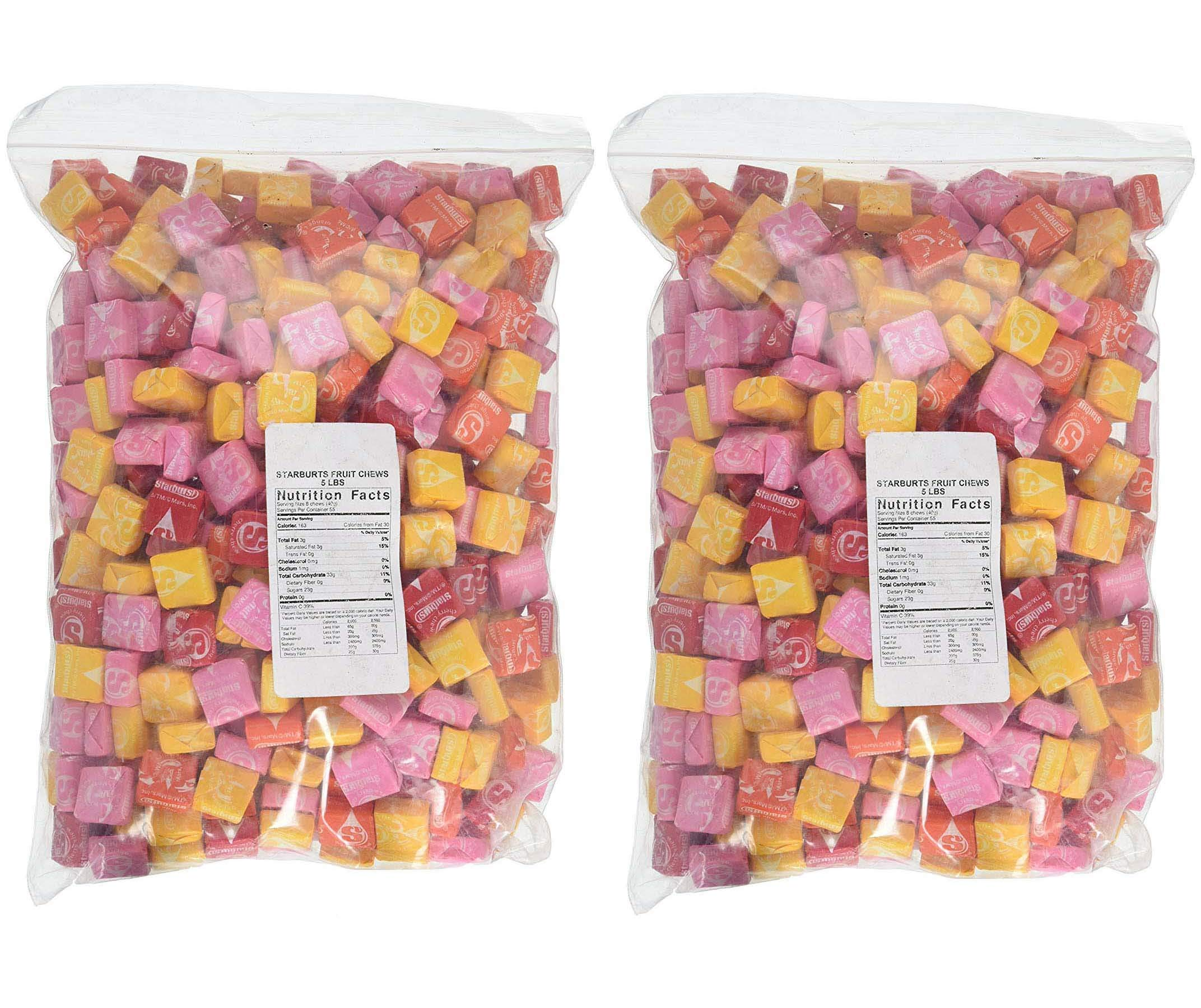 5 lbs Starburst Bulk Candy Wholesale (2 pack - 10 lbs total)