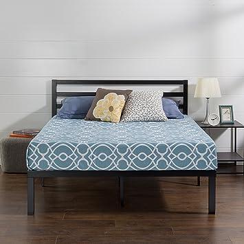 Amazon Com Zinus Luis Quick Lock 14 Inch Metal Platform Bed Frame