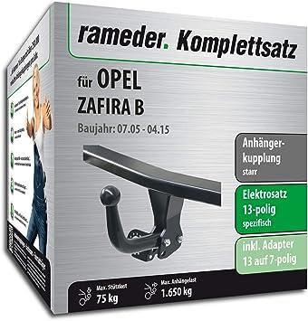 rameder Juego completo, remolque fijo + 13POL Elektrik para Opel Zafira B (117040 - 05425 - 2): Amazon.es: Coche y moto